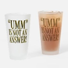 Umm Drinking Glass