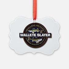 Walleye Slayer Ornament