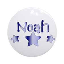 Personalized Noah Ornament (Round)