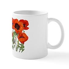 PoppyBag11x6ins Mug