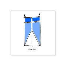 """meowgrrr Square Sticker 3"""" x 3"""""""