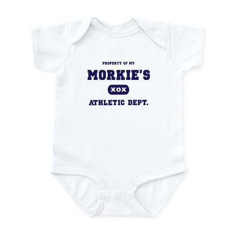 Property of my Morkie Infant Bodysuit