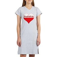 Prababcia Polish Heart Women's Nightshirt