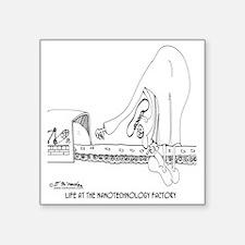 "8554_factory_cartoon Square Sticker 3"" x 3"""