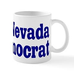 Nevada Democrat Coffee Mug