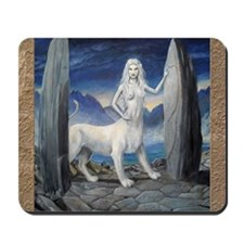 lioness of the stars Mousepad
