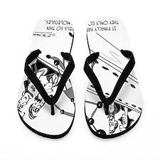 8558_model_cartoon Flip Flops