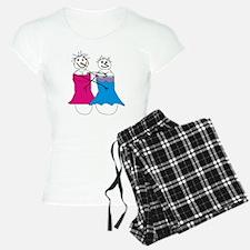 lesbian snowmen 2 Pajamas