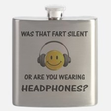 Headphones Farts1 Flask