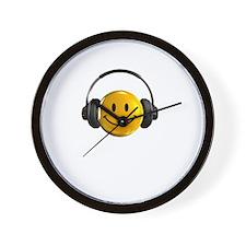Headphones Farts2 Wall Clock