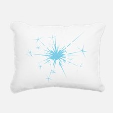 Real Men Sparkle Rectangular Canvas Pillow