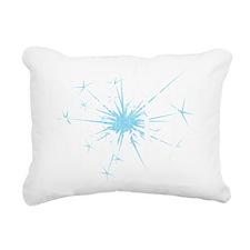 Real Men Sparkle 2 Rectangular Canvas Pillow