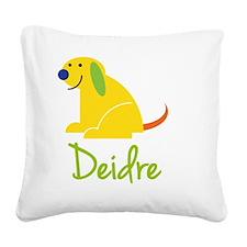 Deidre-loves-puppies Square Canvas Pillow