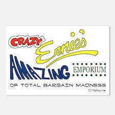 Crazy Ernies Amazon Empor Postcards (Package of 8)