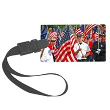 Flags on Parade Luggage Tag