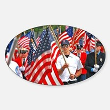 Flags on Parade Decal