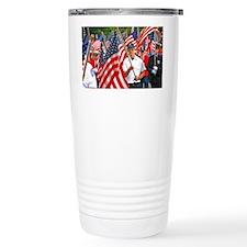 Flags on Parade Travel Mug