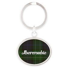 Abercrombie Tartan Oval Keychain