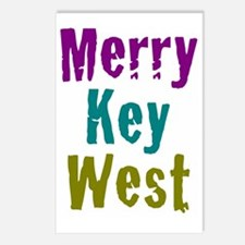 5x7at250MerryKeyWest Postcards (Package of 8)
