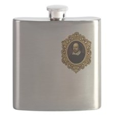 Shakespeare - I Wrote My Own Plays! Flask