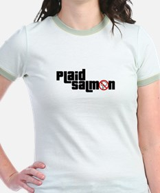 Plaid Salmon T