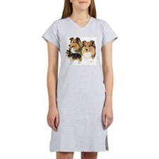 Sheltie Multi Women's Nightshirt