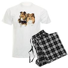 Sheltie Multi pajamas