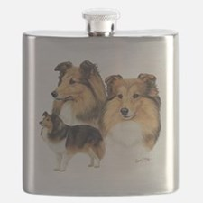 Sheltie Multi Flask