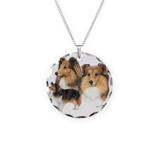 Sheltie Multi Necklace