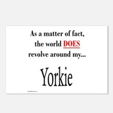 Yorkie World Postcards (Package of 8)