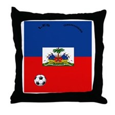 haiti copy Throw Pillow