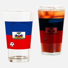 haiti copy Drinking Glass
