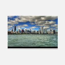 ipad2-chicago-dream-wht Rectangle Magnet
