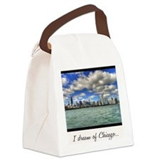 ipad2-chicago-dream-wht Canvas Lunch Bag