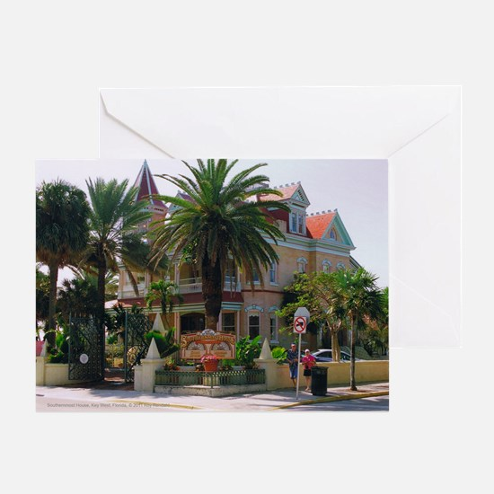 10x8at250SouthHouse Greeting Card