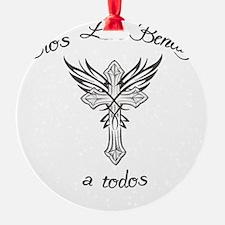 dios les bendiga a todos Ornament