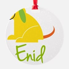 Enid-loves-puppies Ornament