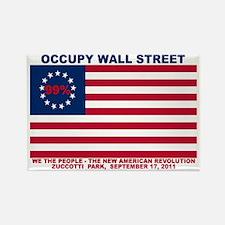 99-Percent-New-American-Revolutio Rectangle Magnet