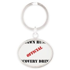 Predawn Runner Official Recovery Dri Oval Keychain