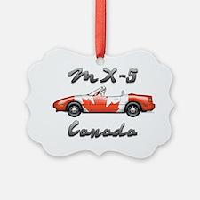 Miata MX5 Canada front Ornament