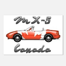 Miata MX5 Canada front Postcards (Package of 8)
