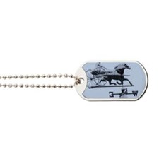Winter Weathervane Dog Tags