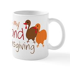 Its My Second Thanksgiving Small Mug