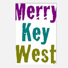 5.5x7.5at220MerryKeyWest Postcards (Package of 8)