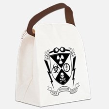 Mad Science Institute BW Canvas Lunch Bag