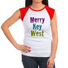 4.5x5.75at250MerryKeyWe Women's Cap Sleeve T-Shirt