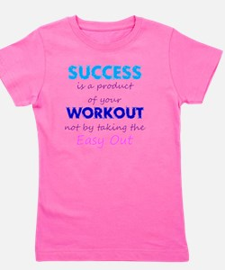 WorkoutSuccess Girl's Tee