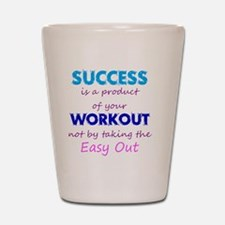 WorkoutSuccess Shot Glass