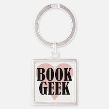 bookgeek Square Keychain