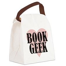 bookgeek Canvas Lunch Bag